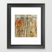Abstract #61 Framed Art Print