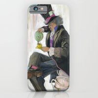 iPhone & iPod Case featuring Mad Hatter by Oliver Dominguez