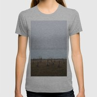 Heading North Womens Fitted Tee Athletic Grey SMALL