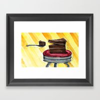 You Are What You Eat Framed Art Print