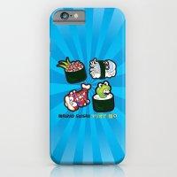 Mario Sushi Cyan iPhone 6 Slim Case