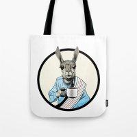 Java Llama Tote Bag
