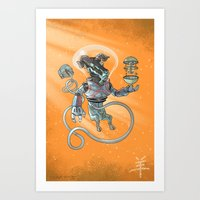 Astro Zodiac Force 08: R… Art Print