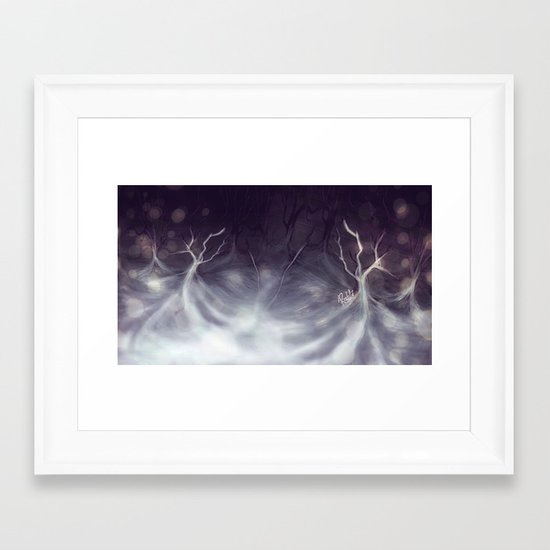 I may not be there yet, but I'm closer than before. Framed Art Print