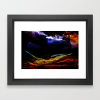 The Land Framed Art Print