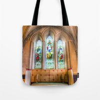 Stained Glass Windows Tote Bag