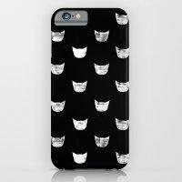 White Cat iPhone 6 Slim Case