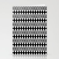 Not Another Triangle Pattern Stationery Cards