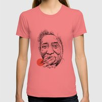 Muddy Waters - Get Your … Womens Fitted Tee Pomegranate SMALL