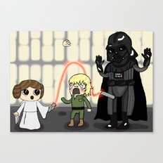 The force is wrong with this one Canvas Print