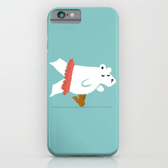 You Lift Me Up - Polar bear doing ballet iPhone & iPod Case