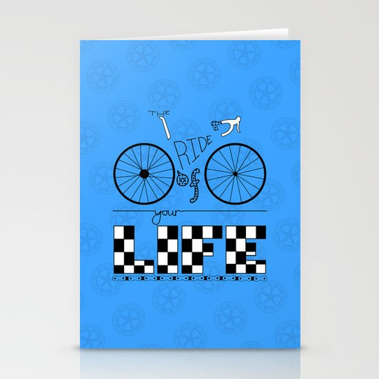 Ride of Your Life Stationery Card