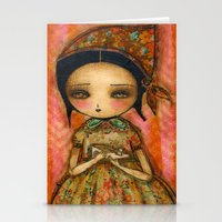 Cinderella's Way Out Of Misery Stationery Cards