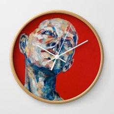 Red Hair Wall Clock