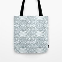 Lace Geometric // Kaleid… Tote Bag