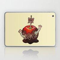 SWEET WORMS 2 - caramel apple Laptop & iPad Skin