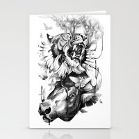 Destructive Creation Stationery Cards