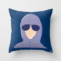 She Doesn't Even Go Here… Throw Pillow
