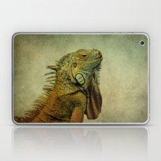 Green Iguana Laptop & iPad Skin