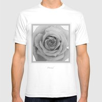 Drained  Mens Fitted Tee White SMALL