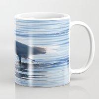 Great Egret Catch Mug