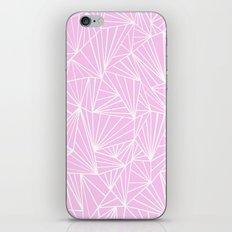 Ab Fan Pink iPhone & iPod Skin