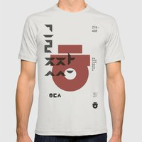 vol.3 nº1 Mens Fitted Tee Silver SMALL