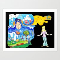 Lucy In The Sky With Dia… Art Print