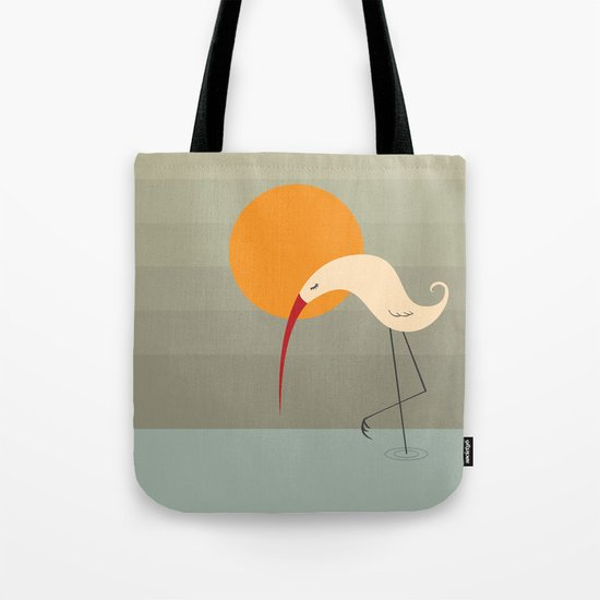 Bird Vertical Tote Bag