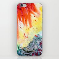 iPhone & iPod Skin featuring Hypergraff by ronnie mcneil