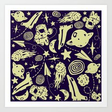 Spacely Art Print