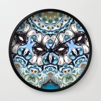 Melting Colors In Symmetry Wall Clock