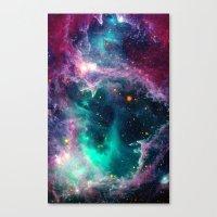 Pillars of Star Formation Canvas Print