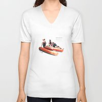 Summer in the City | Collage Unisex V-Neck