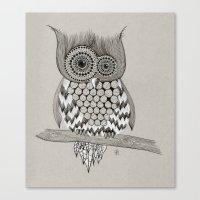 Rupert Owl Canvas Print