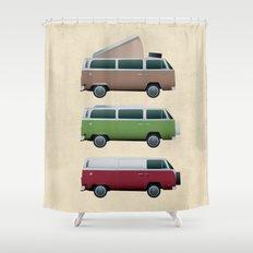 VW Camper Shower Curtain