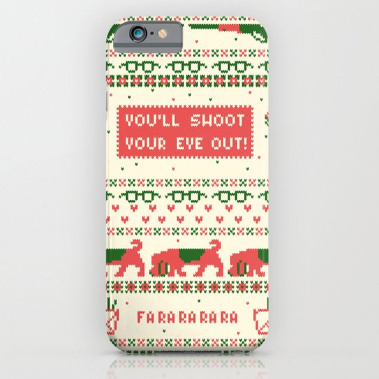 A Christmas Sweater iPhone & iPod Case