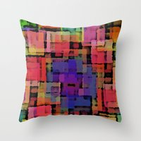 Shapes#6 Throw Pillow