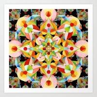 Kaleidoscope Fiesta Art Print