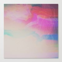 Glitch 09 Canvas Print