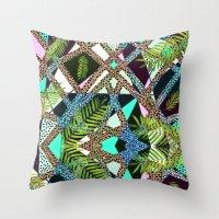 AIWAIWA TROPICAL Throw Pillow