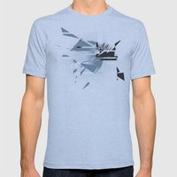Badaboom! Mens Fitted Tee Athletic Blue SMALL