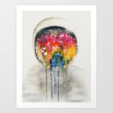 Somewhere in Space, I'm Dreaming Art Print