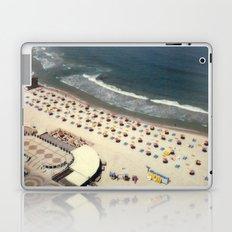 Tel-Aviv beach at summer, high from above, Israel, scaned sx-70 Polaroid Laptop & iPad Skin