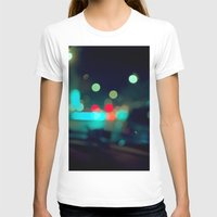 Nocturne Womens Fitted Tee White SMALL