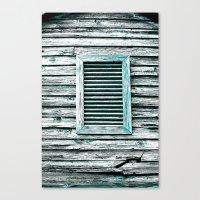 Single Window Canvas Print