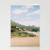 shed mountain Stationery Cards