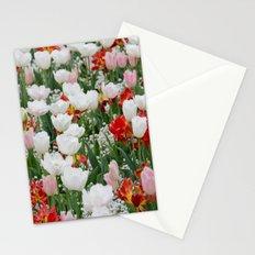 tulip landscape Stationery Cards