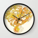 Sunny Valentine Hearty Weather Wall Clock