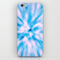 TIE DYE - LIGHT BLUE iPhone & iPod Skin